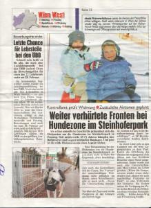 Steinhoferpark Presse