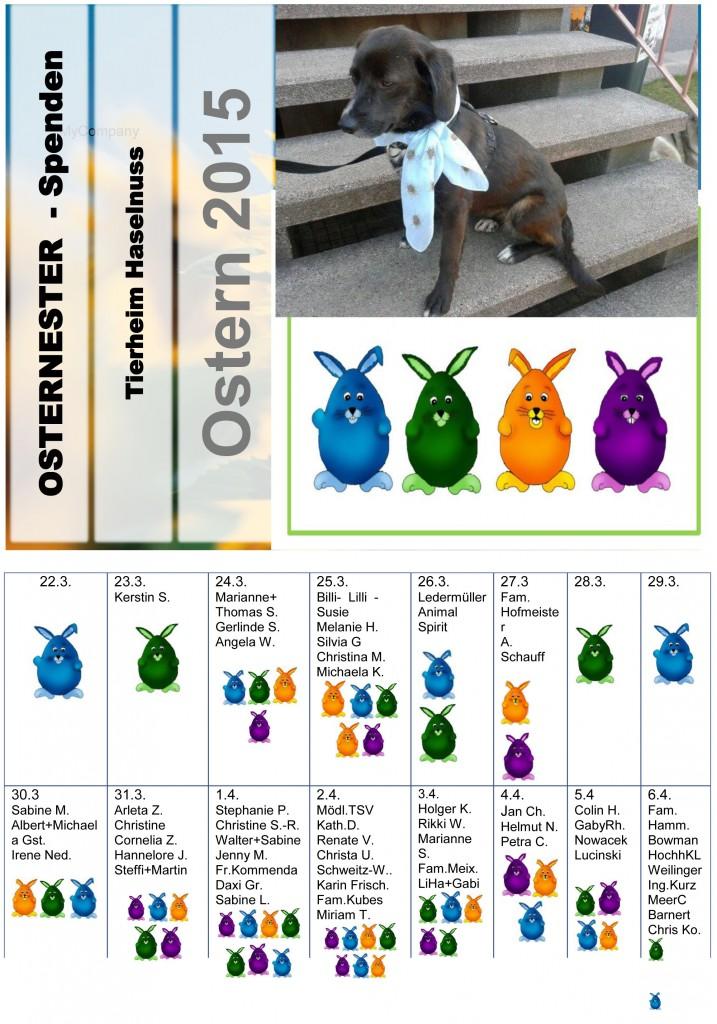 OSTERNESTER 6.4.2015